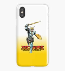 Sectuars Warriors of Symbion - Logo Color iPhone Case/Skin