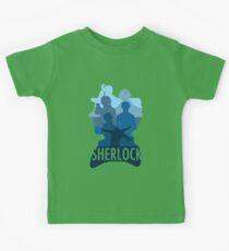 Sherlock ~  A Study to the Fall Kids Tee