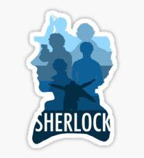 Sherlock ~  A Study to the Fall Sticker