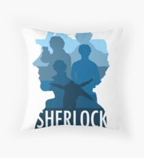 Sherlock ~  A Study to the Fall Throw Pillow