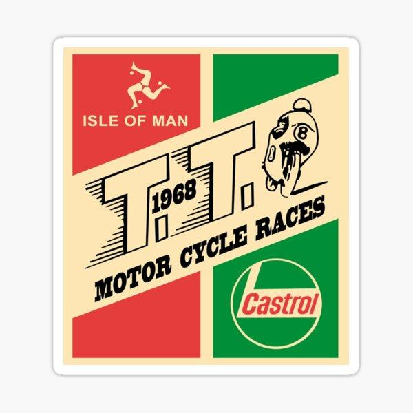 Isla de Man TT 1968 Pegatina