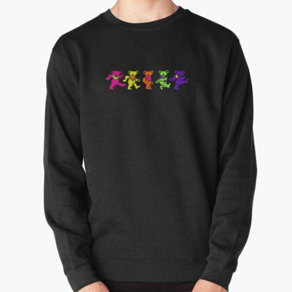 Neon Dancing Bears Pullover Sweatshirt