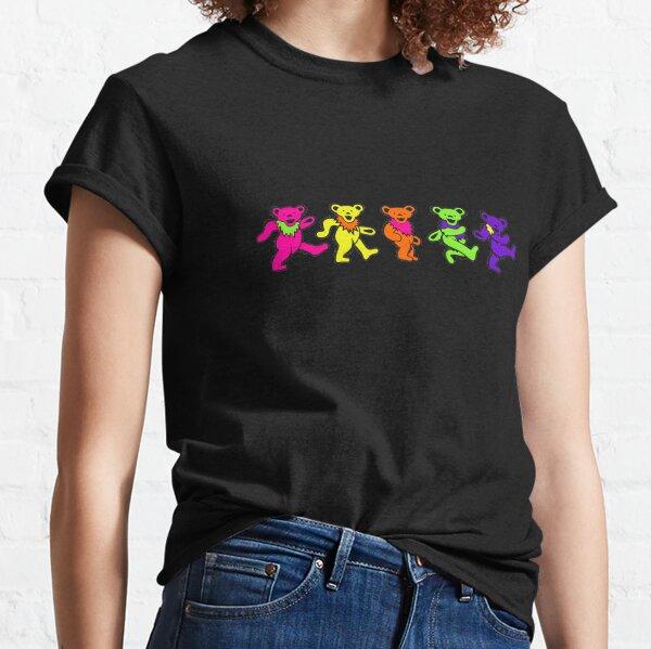 Neon Dancing Bears Classic T-Shirt