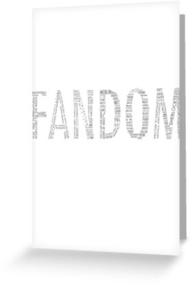 FANDOM (Sherlock, Doctor Who, Hannibal, Supernatural, ALL) by Lillian Hong