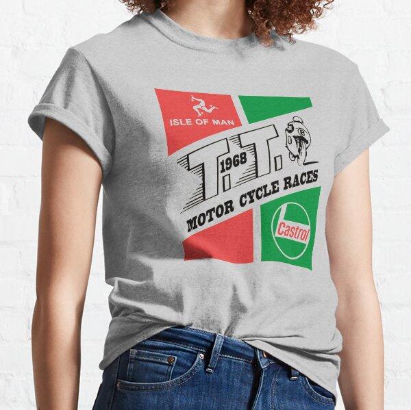 Isle of Man TT 1968 White Classic T-Shirt