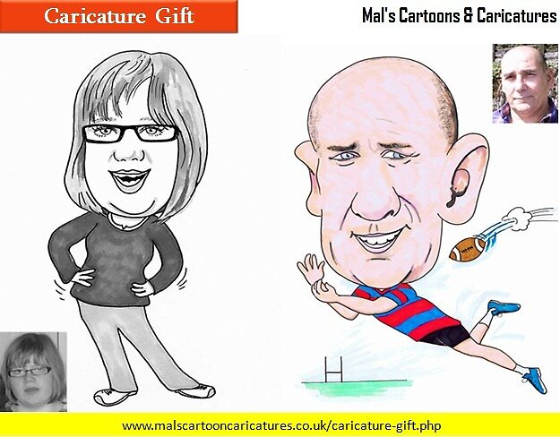 Caricature Mals Gift by hillhenry