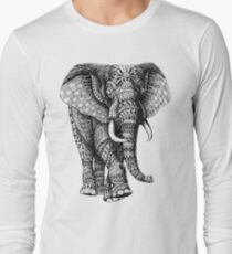 Camiseta de manga larga Ornate Elephant v.2