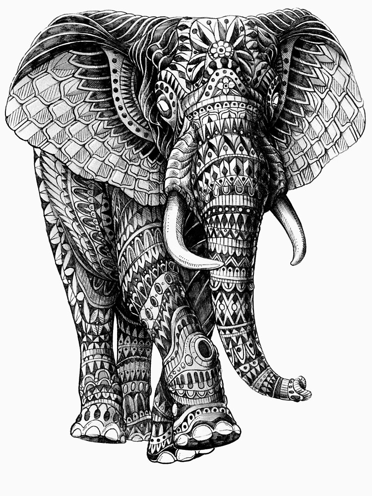Ornate Elephant v.2 | Unisex T-Shirt