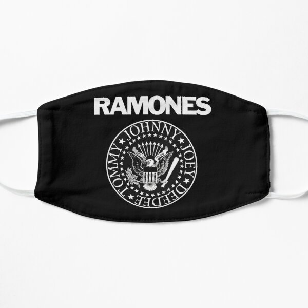 The Ramones Logo (Black Background) Mask