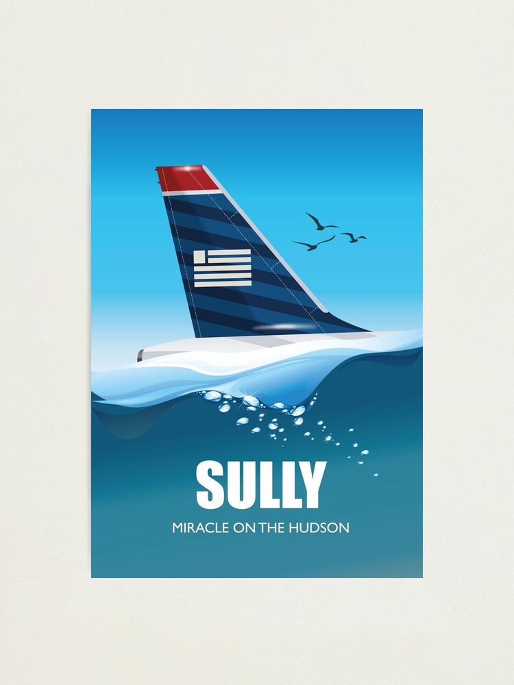 Alternate view of Sully: Miracle on the Hudson - Alternative Movie Poster Photographic Print