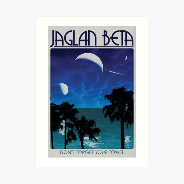 Jaglan Beta Travel Poster Art Print