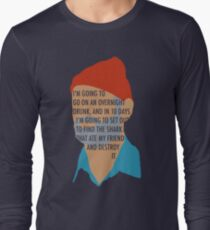 Team Zissou's Mission Objective Long Sleeve T-Shirt