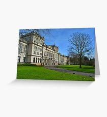Main Building, Cardiff University Greeting Card