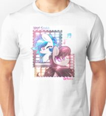 Vinyl and Octavia Collage  T-Shirt