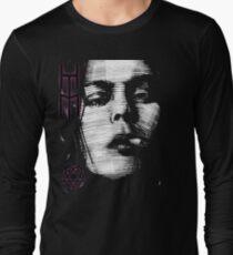 Him Valo Razorblade Tee OPTIMIZED FOR BLACK SHIRTS Long Sleeve T-Shirt