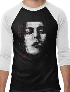 Him Valo Razorblade Tee OPTIMIZED FOR BLACK SHIRTS Men's Baseball ¾ T-Shirt