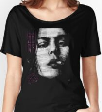 Him Valo Razorblade Tee OPTIMIZED FOR BLACK SHIRTS Women's Relaxed Fit T-Shirt