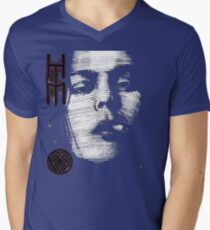 Him Valo Razorblade Tee OPTIMIZED FOR BLACK SHIRTS Mens V-Neck T-Shirt