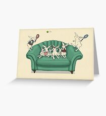 Tennis greeting cards redbubble armchair tennis greeting card m4hsunfo Choice Image