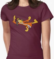Hong Kong Phooey Womens Fitted T-Shirt