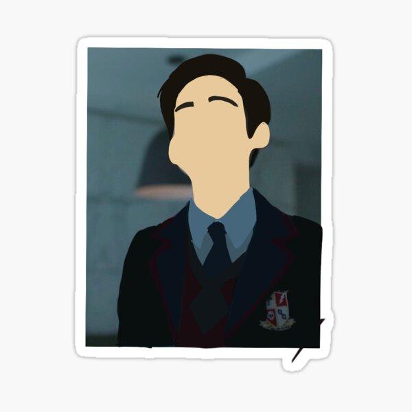 umbrella academy 5 sticker  Sticker