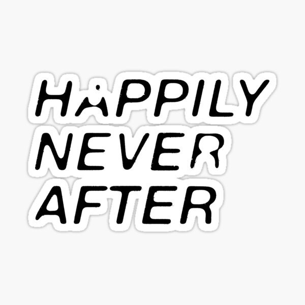 """Happy Ending"" Sticker"