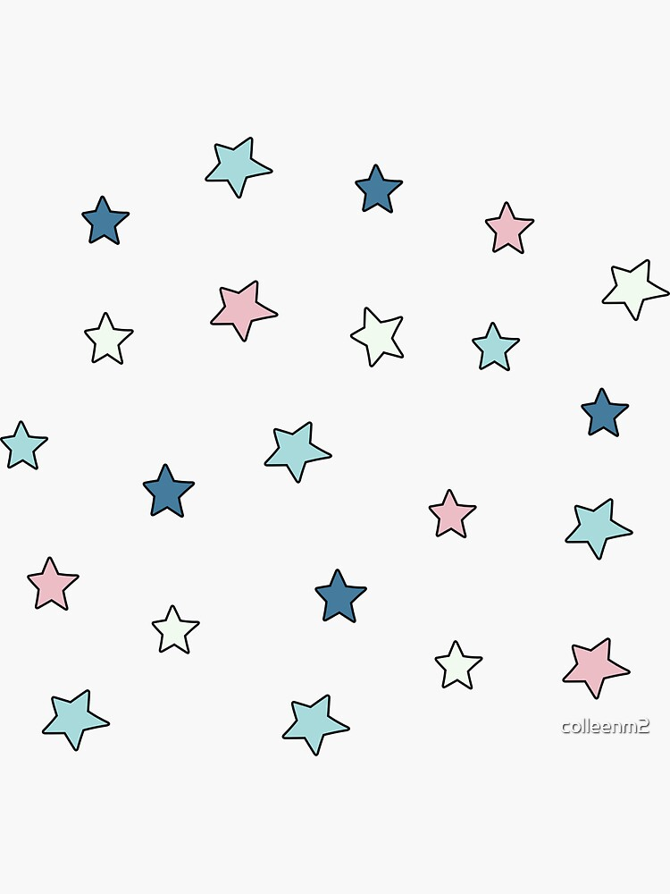 retro mini star pack by colleenm2