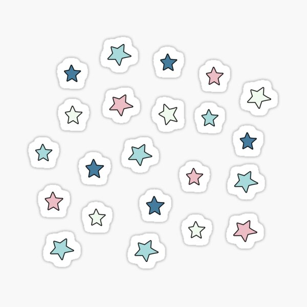 Retro Mini Star Pack Sticker