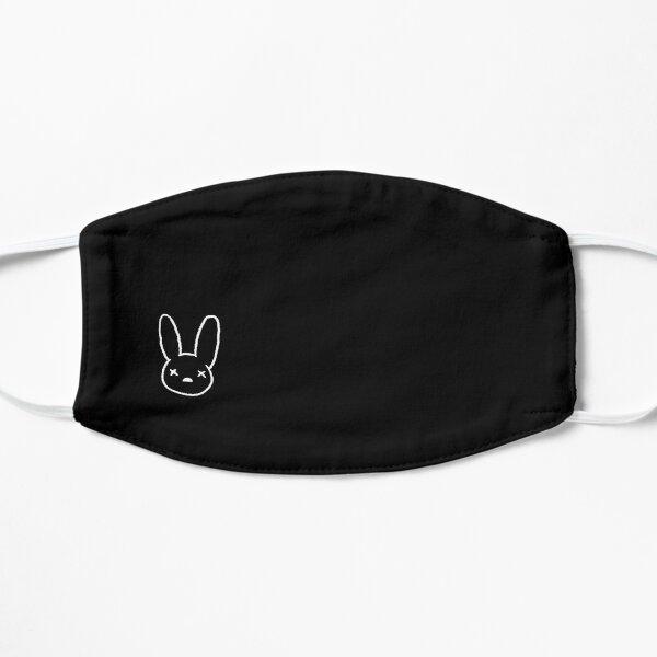 Bad Bunny muerto Mascarilla plana