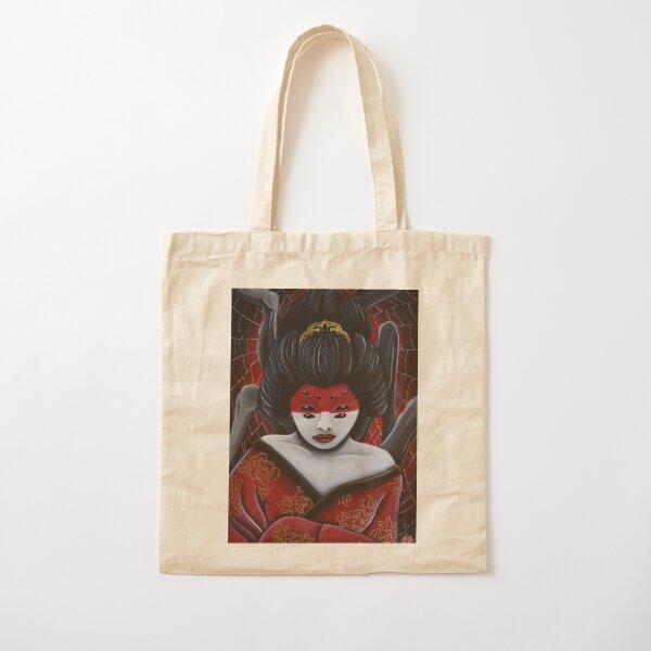 Jorōgumo - The spider woman Cotton Tote Bag
