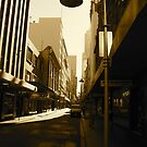 Morning lane light by Gabrielle Camilleri