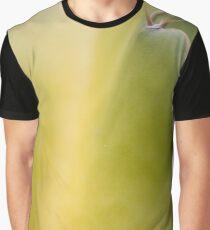 Apple Green Cactus Design Graphic T-Shirt