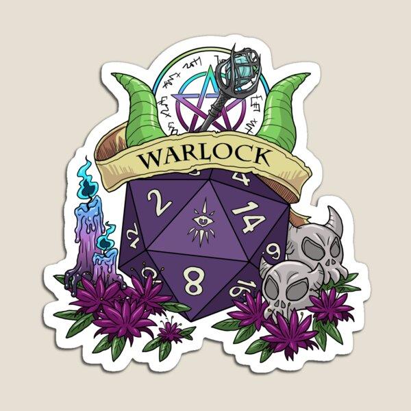 Dice Warlock Magnet