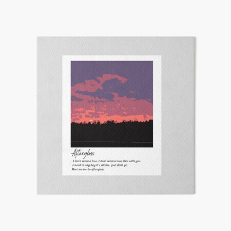Afterglow - Taylor Swift Art Board Print