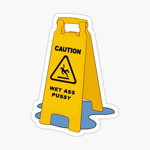Caution: WAP Sticker