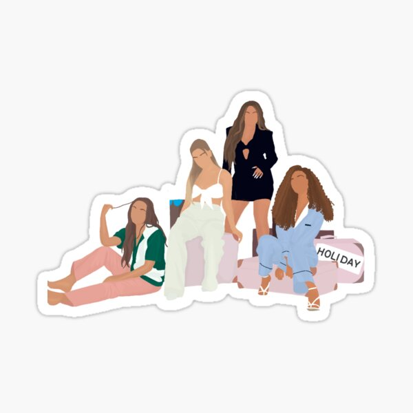 Little mix Holiday  Sticker