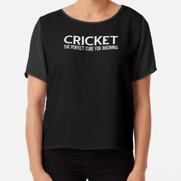 Cricket The Perfect Cure For Insomnia Chiffon Top