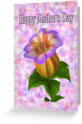 Happy Mothers Day .. card by LoneAngel