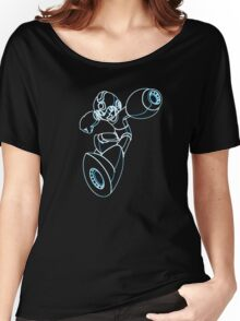 Megaman Neon Women's Relaxed Fit T-Shirt