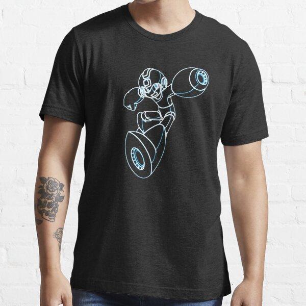 Megaman Neon Essential T-Shirt