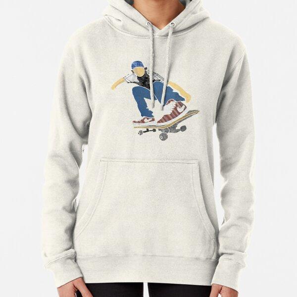 Sport Skater Skateboard Skateboarding SkateBoarder Moon Unisex Hoodie