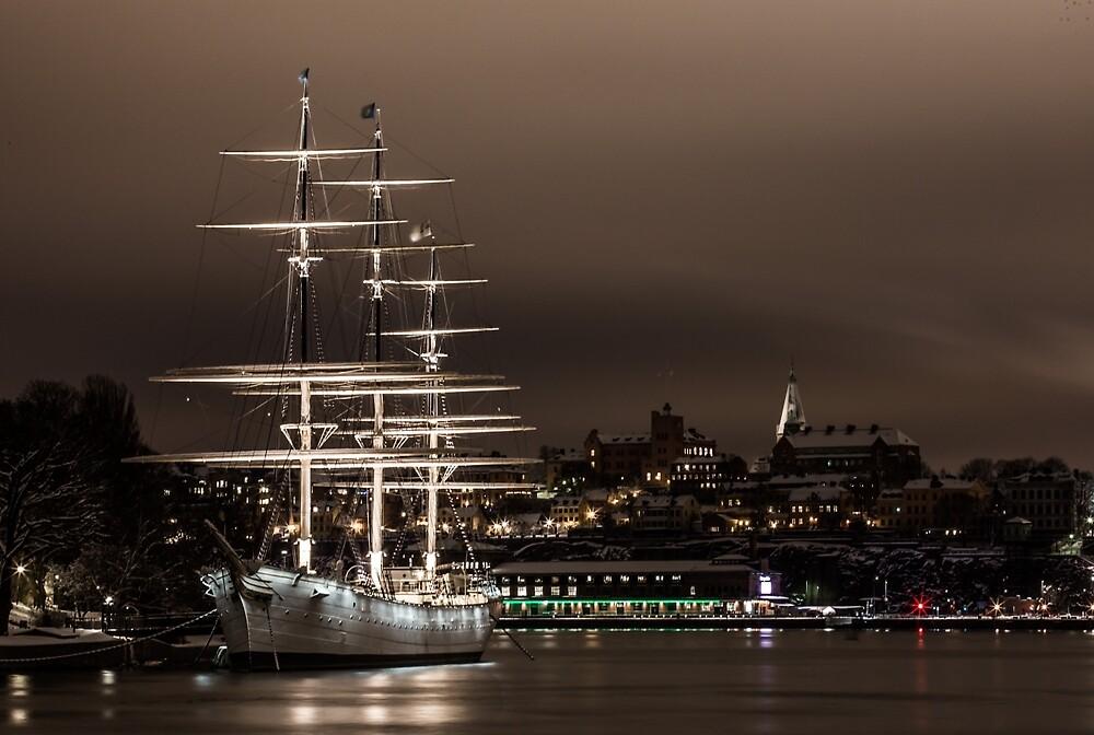 Sailing ship by soid