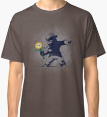 Banksy flower Classic T-Shirt