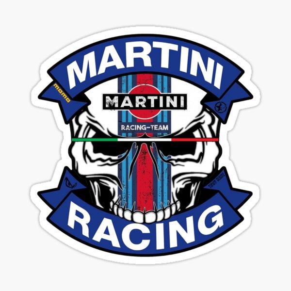 Skull Martini Racing Momo Sticker