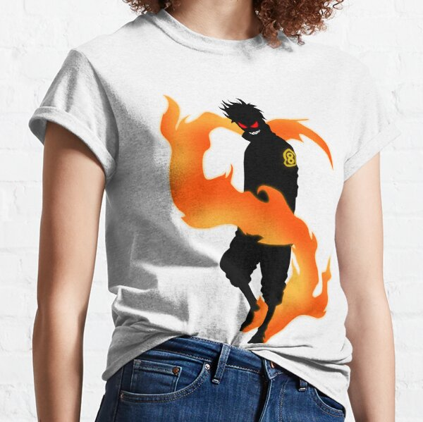 Shinra Kusakabe | Fire Force Classic T-Shirt