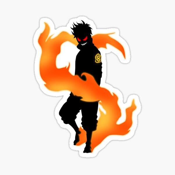 Shinra Kusakabe | Fire Force Sticker