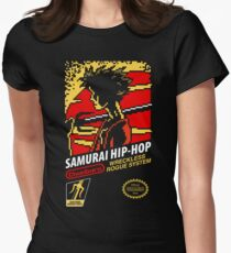 Samurai Hip-Hop Women's Fitted T-Shirt