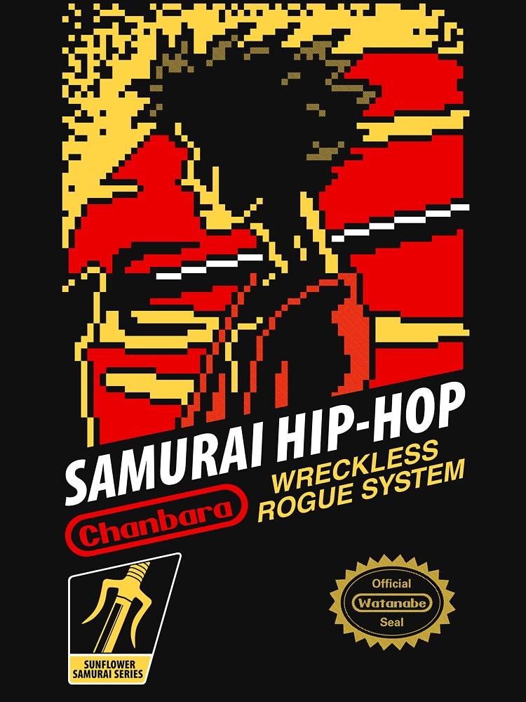 TShirtGifter presents: Samurai Hip-Hop | Unisex T-Shirt