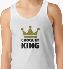 Croquet king champion Tank Top