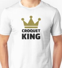 Croquet king champion T-Shirt